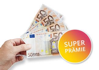 GEA Prämie 200€ bar