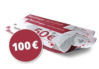 100€ Reutlingen Gutscheine